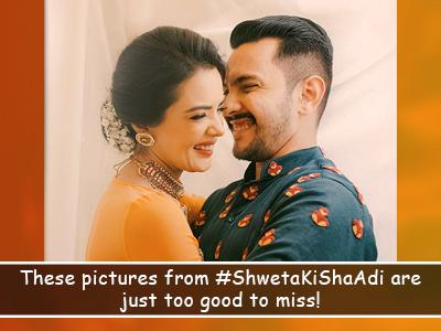 Aditya Narayan marries Shweta Agarwal and we're the happiest for them