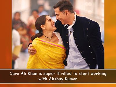 Akshay Kumar starts shooting for Antrangi Re!