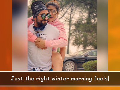 Beautiful winter mornings with the Khurranas!