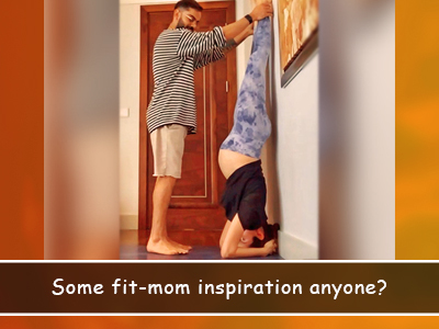 Anushka Sharma performs Sirsasana with the help of her yoga teacher and Virat Kohli!