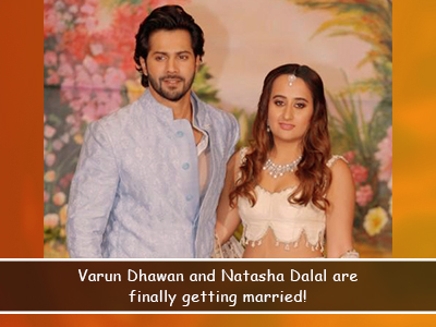 And here are all the details to Varun and Natasha's wedding!