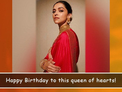 It's Deepika Padukone's birthday and here are some of the sweetest wishes for her!