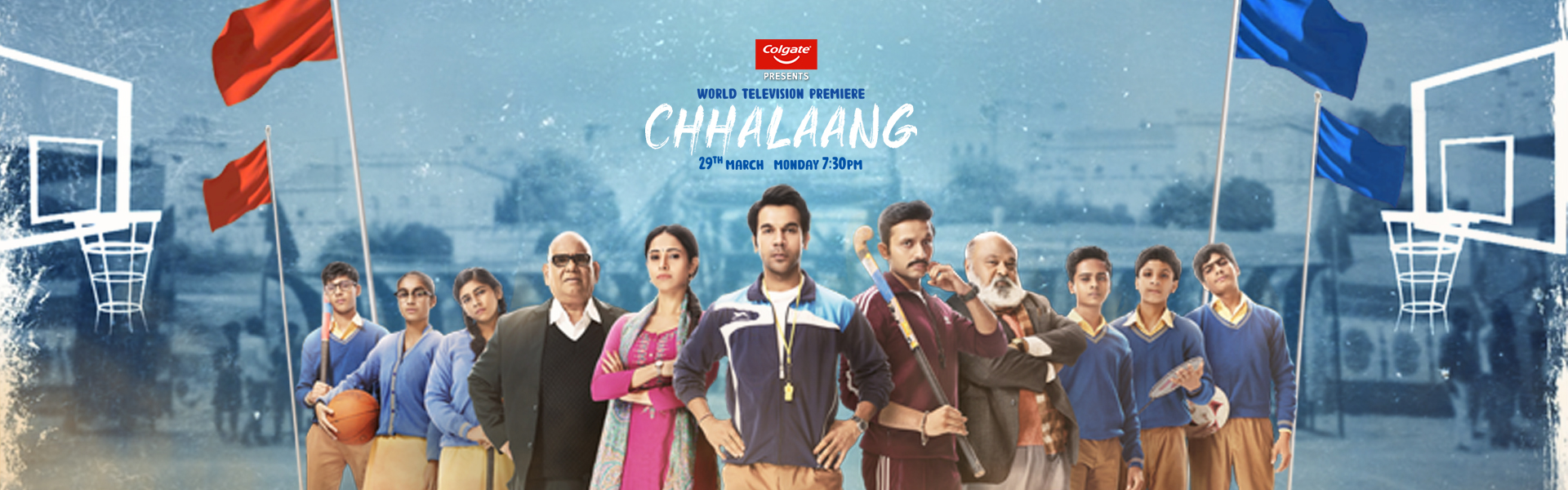World Television Premiere Chhalaang
