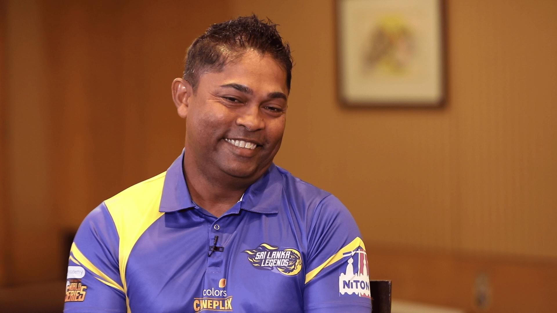 Interview Romesh Kaluwitharana