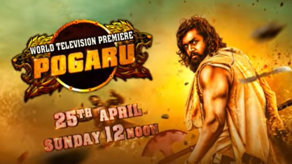 Pogaru | World Television Premiere | 25th April @12Noon | Colors Cineplex