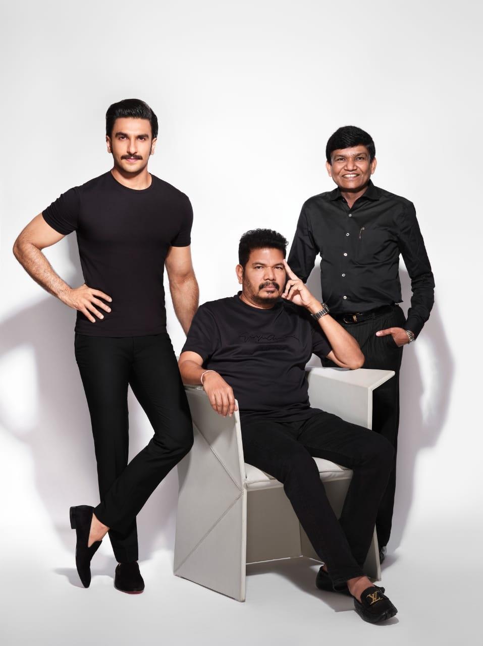 Iconic Director Shankar & Bollywood Superstar Ranveer Singh join hands for the adaptation of Anniyan