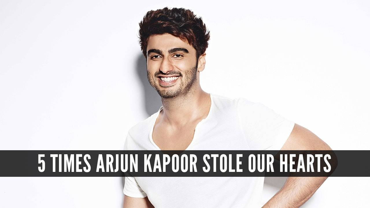 5 times Arjun Kapoor made us smile from ear to ear!