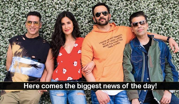 After 9 years, Akshay Kumar and Katrina Kaif come together for Sooryavanshi