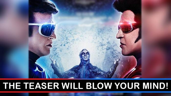 Akshay Kumar & Rajinikanth's 2.0 teaser will leave you wanting for more!