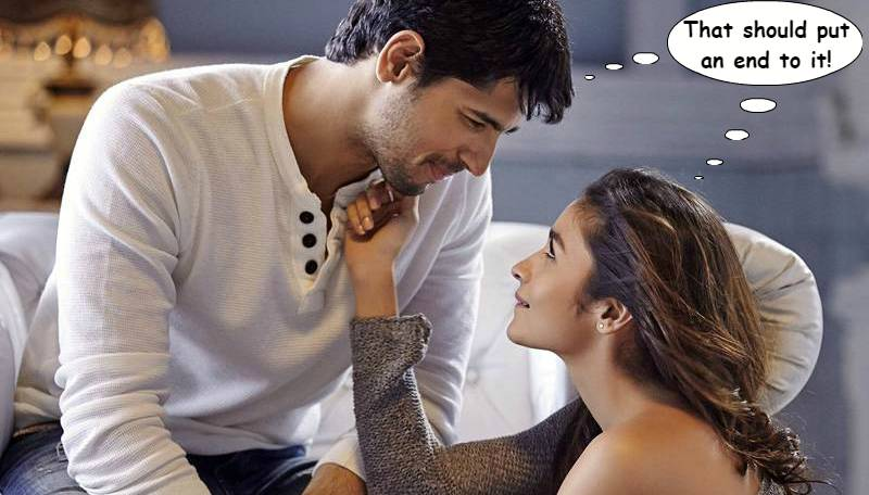 Alia Bhatt breaks her silence on her relationship with Sidharth Malhotra