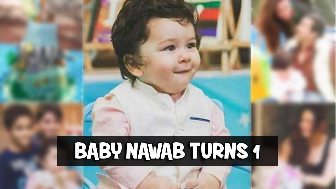 And the baby nawab turns 1.