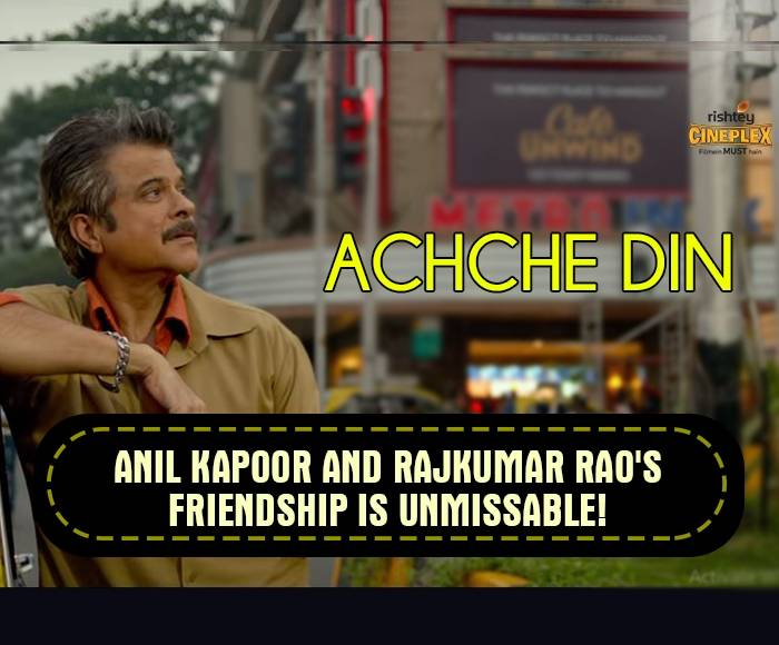 Anil Kapoor is waiting for Achche Din in Fanney Khan