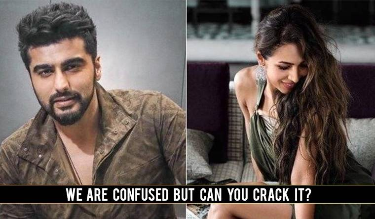 Arjun Kapoor's recent comment on Malaika Arora's photo will leave you puzzled