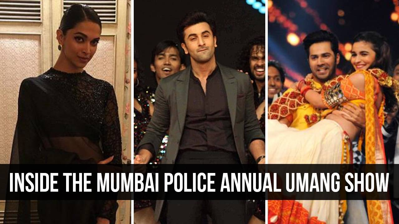 B-Town celebs attend the Mumbai Police annual Umang Show.