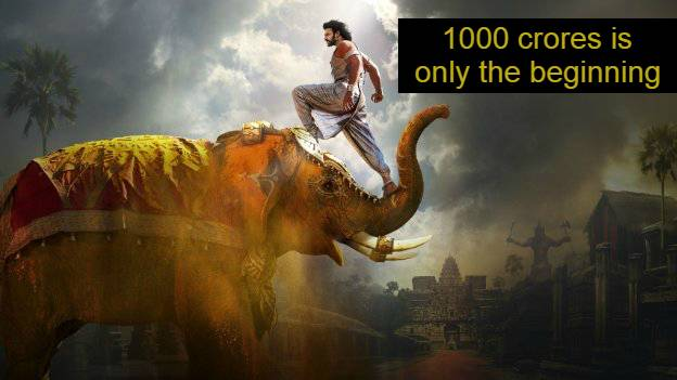 Baahubali: The Conclusion earns 1000 crores worldwide