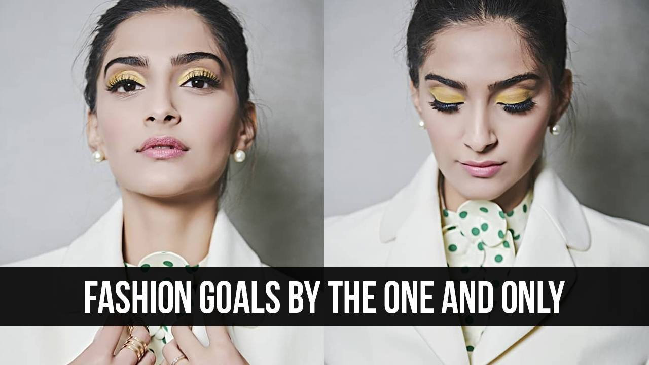 Four Colour tones Sonam Kapoor flaunted with perfection
