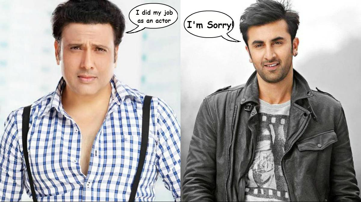Govinda reacts to the rumors about him dropping out of Jagga Jasoos