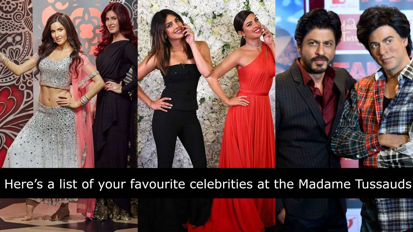 Here are all the Bollywood celebrities who have a wax statue at Madame Tussauds!