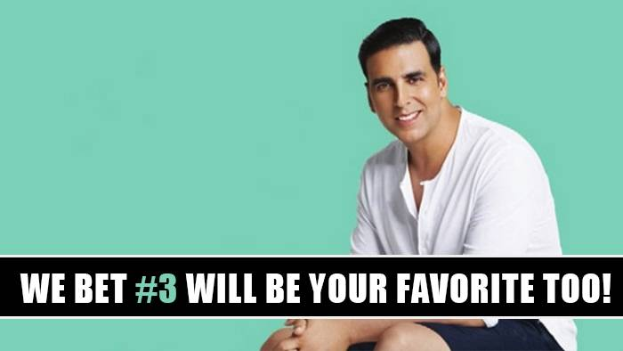 Here are the ten best characters Akshay Kumar has ever played!