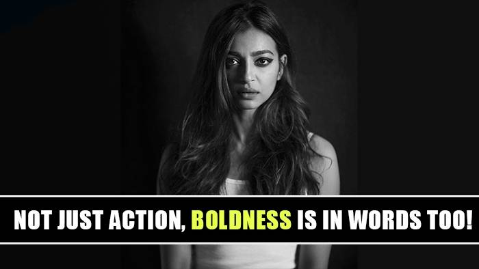 Here's how Radhika Apte proves smart is the new sexy!