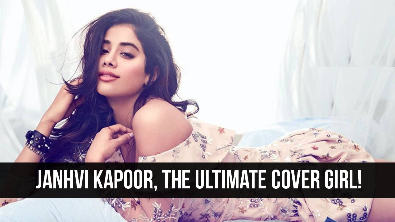 Janhvi Kapoor's First Cover Shoot