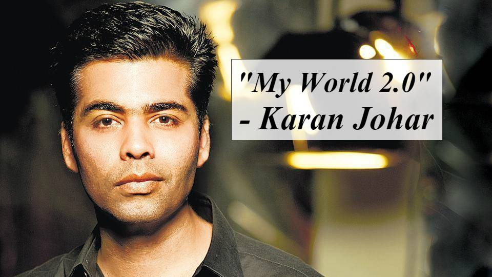 Karan Johar surprises his fans with a picture of his twins