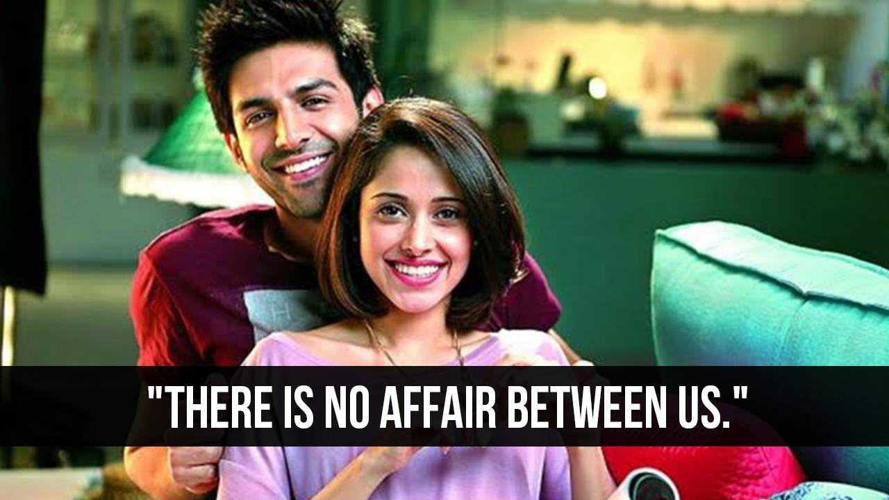 Kartik Aaryan clears the air about the bond he shares with Nushrat Bharucha.
