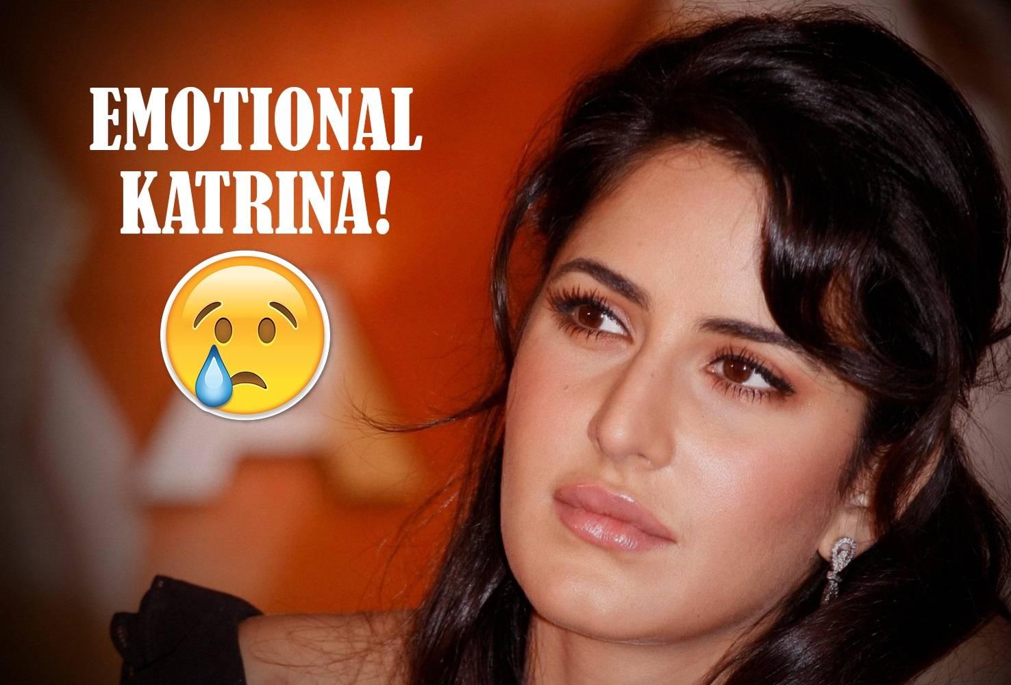 Katrina Kaif was moved to tears on the sets of 'Tiger Zinda Hai'.