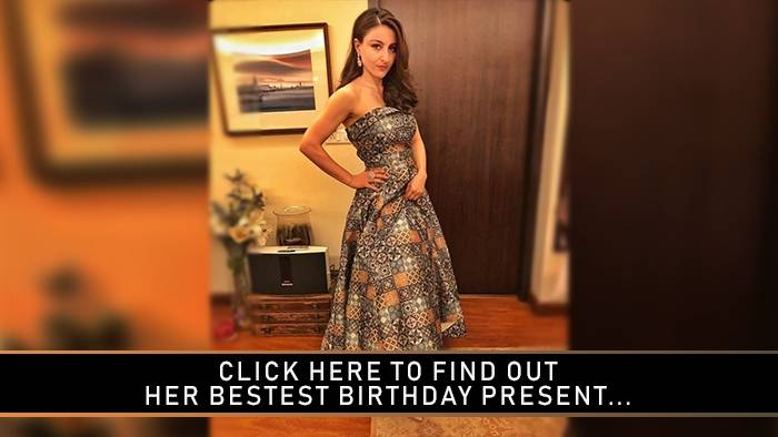 On her 40th birthday, Soha Ali Khan received the cutest gift ever!
