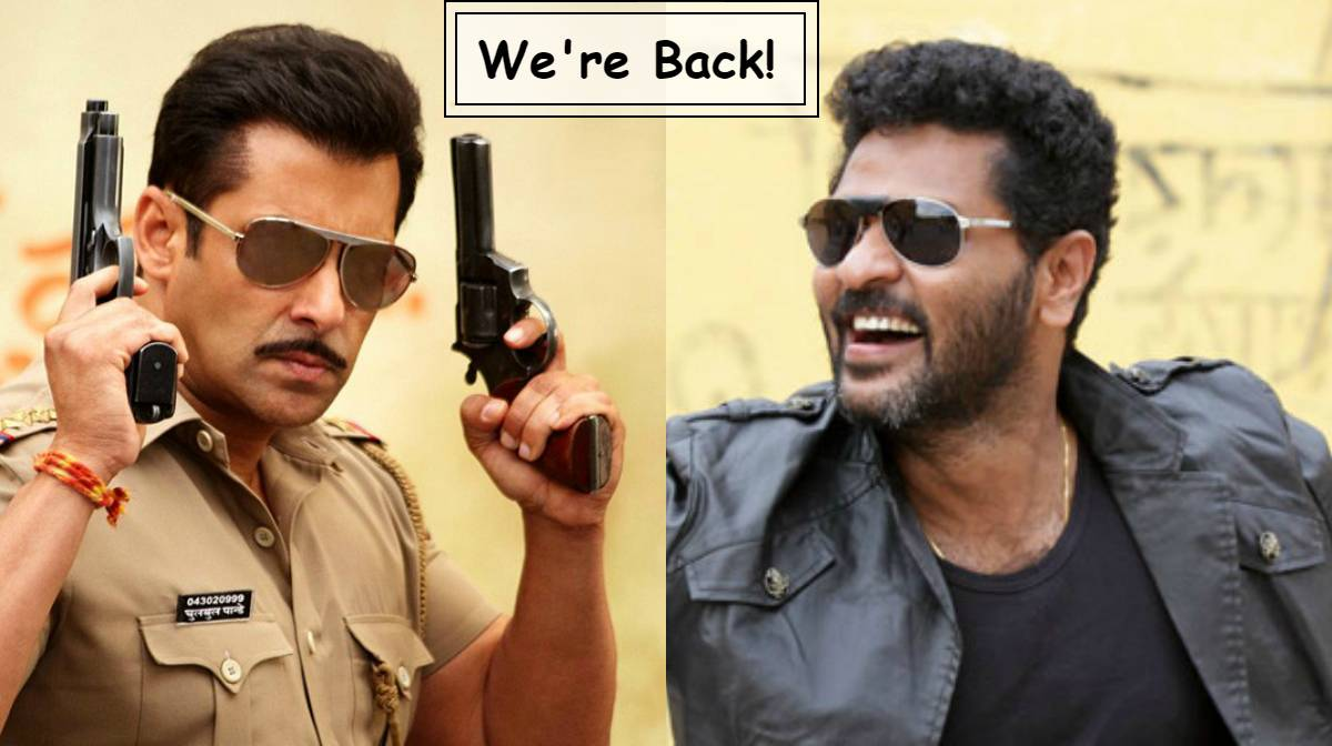 Prabhu Deva to direct Salman Khan's next?