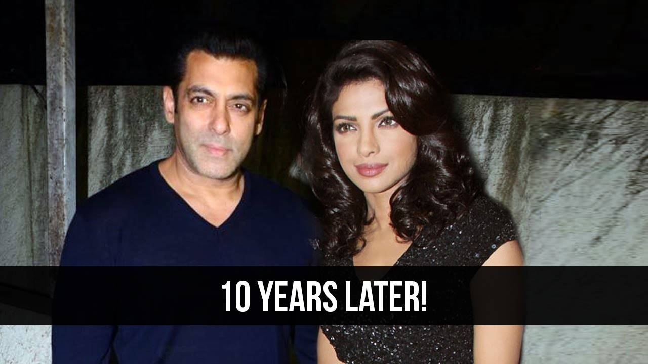Priyanka and Salman to appear on screen together.