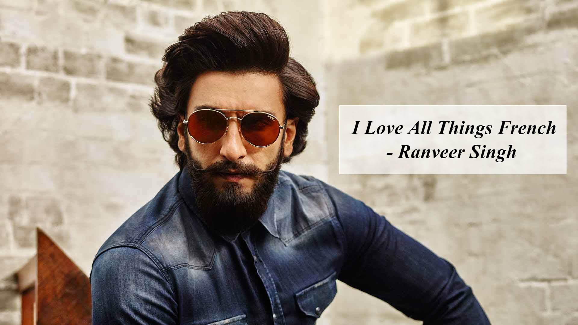 Ranveer Singh has been immortalized by the French