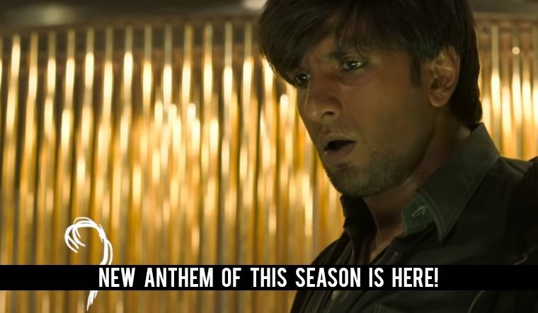 Ranveer Singh's rapping is on point in the Apna Time Aayega song from Gully Boy
