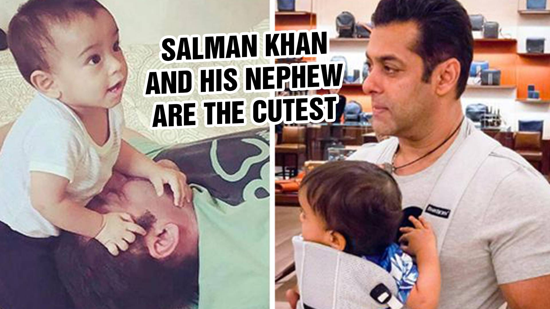 Salman Khan and nephew Ahil's breakfast shenanigans will make your day!