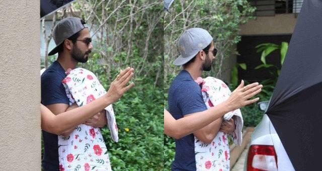 Shahid Kapoor Confirms His Daughter's Name!
