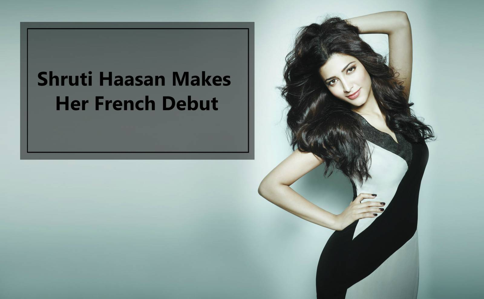 Shruti Haasan is all set to turn heads at the Cannes Red Carpet
