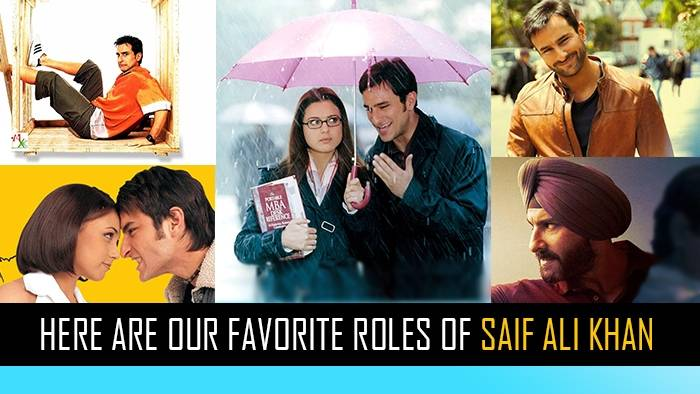 Six characters played by Saif Ali Khan that we absolutely adore!
