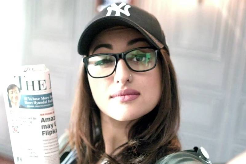 Sonakshi Sinha shares fun behind the scenes photos from Noor