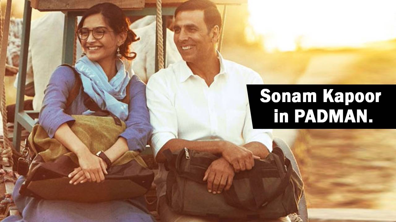 Sonam Kapoor redefines simplicity with the motion poster of PADMAN.