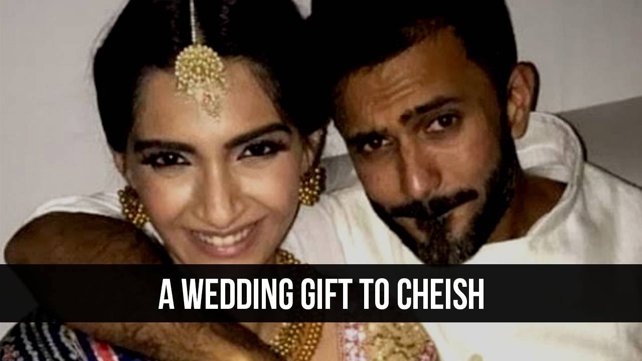 Sonam Kapoor's gift to her to-be-husband is too adorable