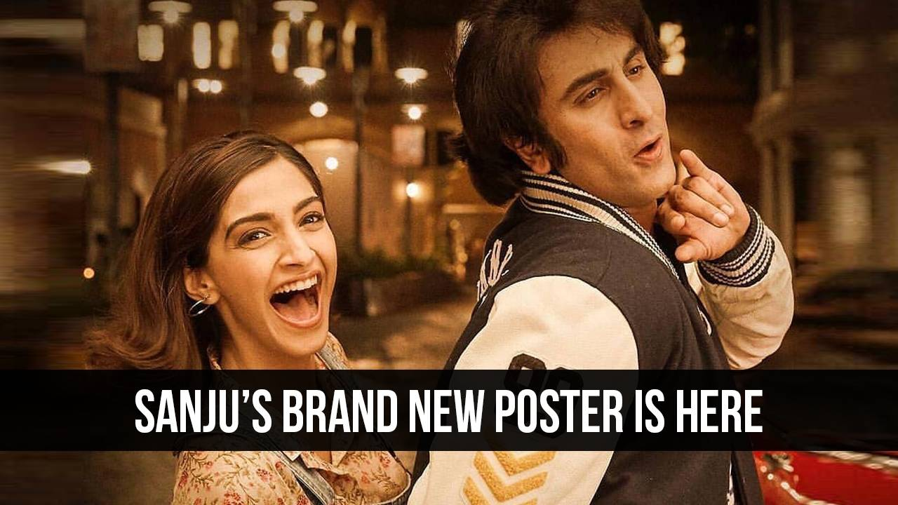 The latest poster of Sanju has gotten us too excited!