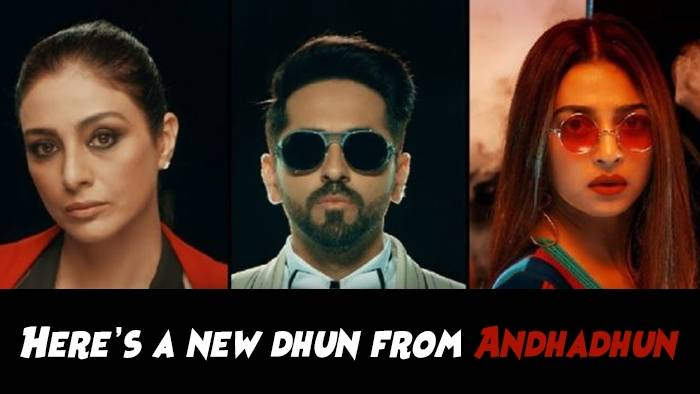 The upbeat title track of AndhaDhun will uplift your mood!