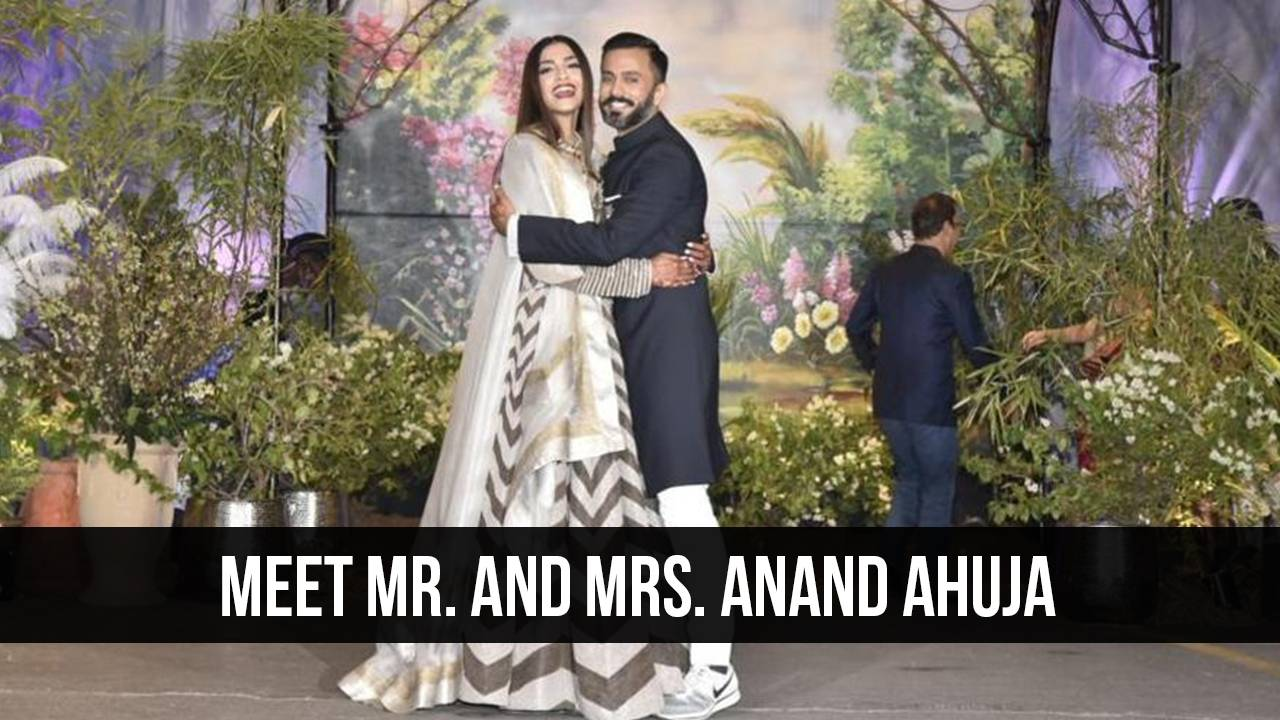 The Wedding Reception of Sonam and Anand Ahuja