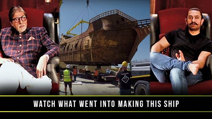 This is why the massive ship in Thugs Of Hindostan looks so extravagant