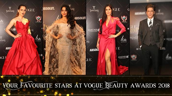 Vogue Beauty Awards 2018: From Shah Rukh Khan To Katrina Kaif, Check Out These Red Carpet Looks