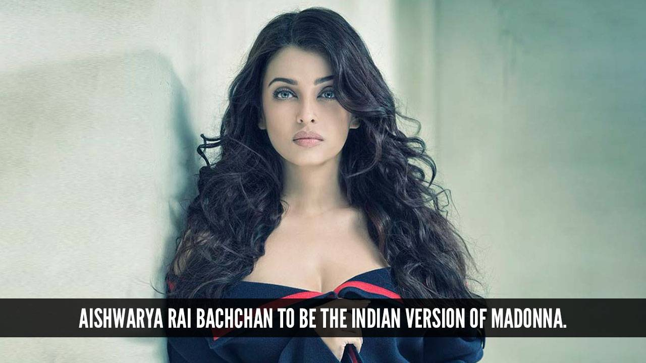 We are all set to see Aishwarya Rai Bachchan in her Madonna avatar!