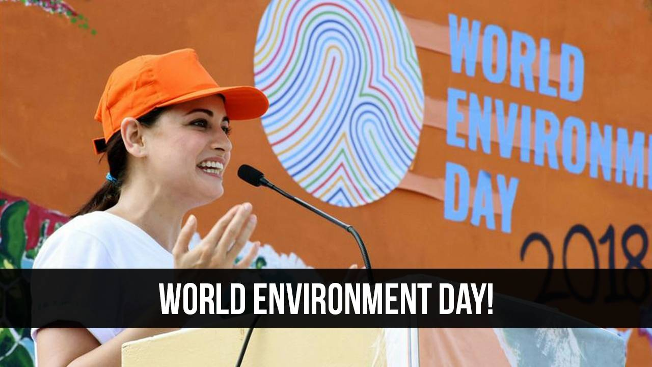 World Environment Day with a Bollywood spin