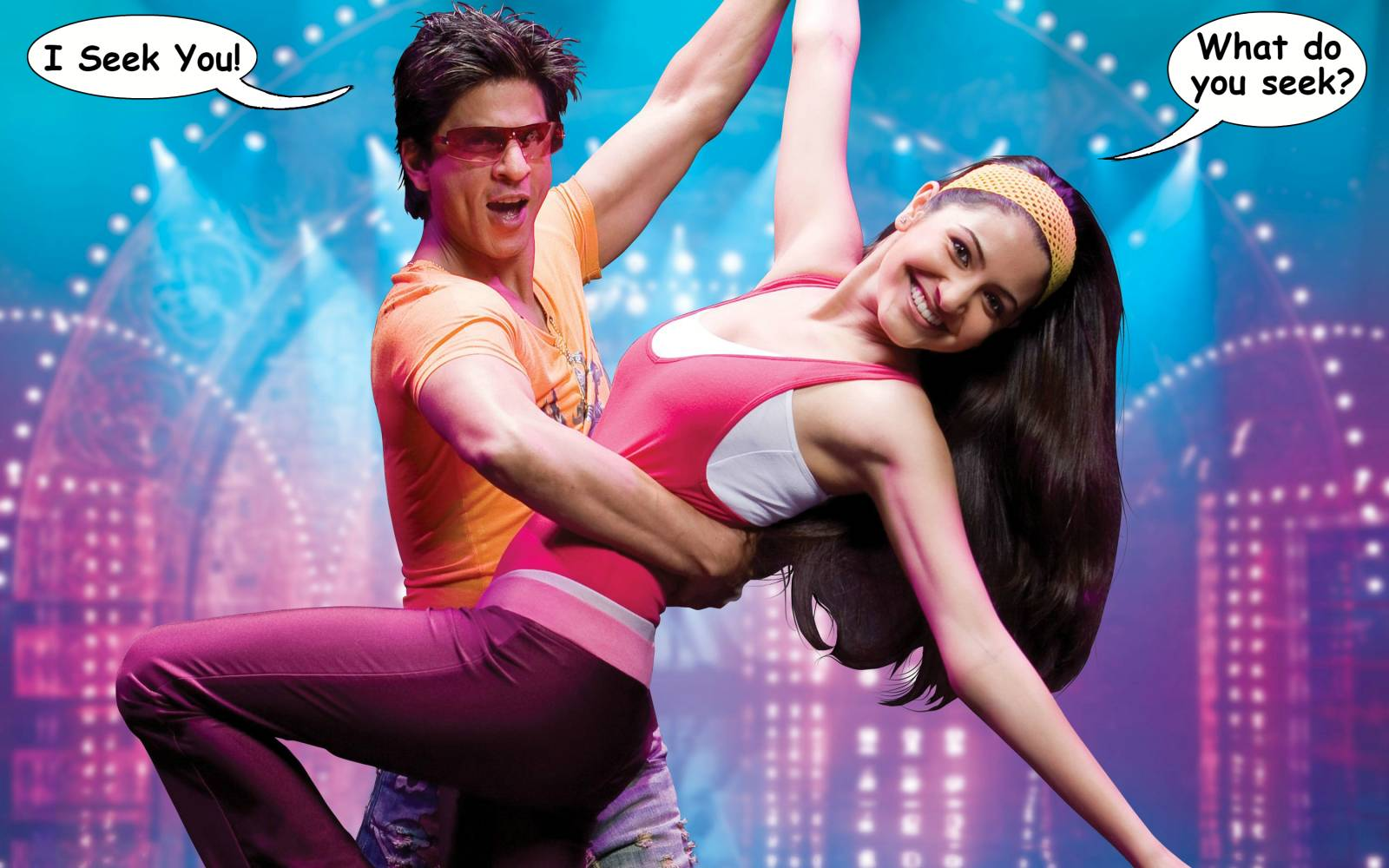 You have got to love SRK and Anushka Sharma's new movie title