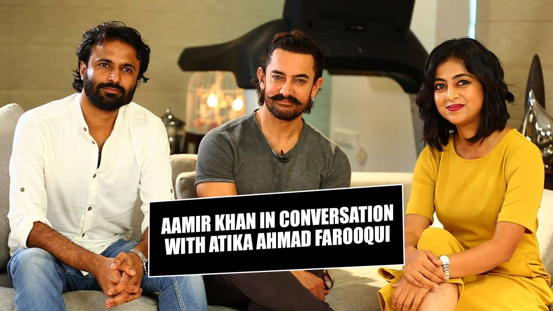 Aamir Khan in conversation with Atika Ahmad Farooqui