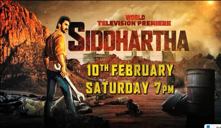 Catch the WTP of super-hit movie 'Siddhartha' this Saturday at 7PM.